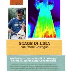 Stage di Lira Calabra con Ettore Castagna a Spello (PG)