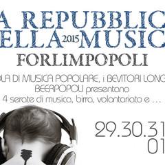 LA REPUBBLICA DELLA MUSICA 2015