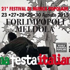 XXI FESTIVAL DI MUSICA POPOLARE di FORLIMPOPOLI – una festa italiana