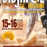 15/16/17 Luglio FORLIMPOPOLI DIDJIN'OZ 2016 Il programma