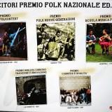 PREMIO NAZIONALE FOLK 2016 – I vincitori