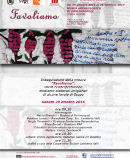 29 Ottobre 2016 – Favoliamo Esopo con Enrico Zambianchi, Radames Garoia e Duo Auzir (Fabio Briganti e Marie Rascoussier)