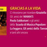 24 marzo 2017 – Al Mama's Club una festa dedicata a Graziella Pagani