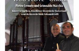 3 Agosto 2017 Bertinoro DUO FLöTE- ORGEL   Concerto per Organo, Friscaletto siciliano e Zampogna con Pietro Cernuto e Grimoaldo Macchia