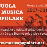 4 Ottobre 2017 – Serata di apertura del XXXII anno scolastico della SCUOLA DI MUSICA POPOLARE