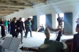 15 Ottobre 2017 – L'Orchestrona della Scuola di Musica Popolare alla SAGRA CAVAREI