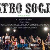 Venerdì 8 Dicembre 2017 – Il Gran ballo del Cappelletto con l'Orchestrona della SMP al Teatro Socjale di Piangipane
