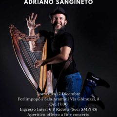 17/12 /2017 Adriano Sangineto presenta Synantys all'ENTROTERRE FOLK CLUB