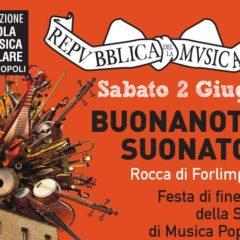 2 Giugno 2018 Torna BUONANOTTE SUONATORI – LA REPUBBLICA DELLA MUSICA