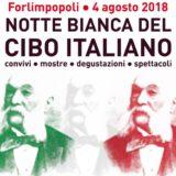 Sabato 4 Agosto L'Orchestrona a Forlimpopoli per la NOTTE ITALIANA DEL CIBO