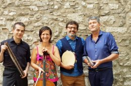 25 Novembre 2018 Il TRIO INSOLITO all'ENTROTERRE FOLK CLUB