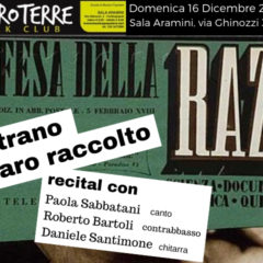 Domenica 16/12/2018 Paola Sabbatani Trio all'ENTROTERRE FOLK CLUB