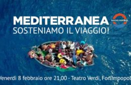 08/02/2019 Mediterranea. Sosteniamo il viaggio! Serata di raccolta fondi a sostegno del progetto
