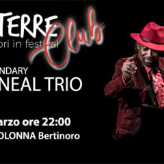 27/03/2019 JOHNNY O'NEAL TRIO – Con EMTROTERRE CLUB Jazz all' Enoteca Bistrot Colonna, Bertinoro