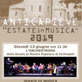 13 Giugno 2019 ORE 21:30 L'Orchestrona a Pieve Acquedotto (Forlì)