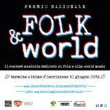Premio Nazionale Folk & World Scadenza prorogata al 24 Giugno