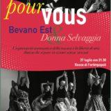 27 Luglio 2019 Rocca di Forlimpopoli – POUR VOUS Donna Selvaggia & Bevano Est