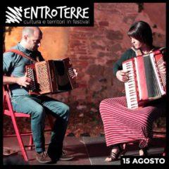 15 Agosto Ci vediamo all'alba alla Fortezza di Castrocaro con il DUO BAGUETTE per Entroterre Festival