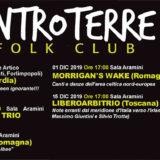 31 Ottobre – 15 Dicembre 2019 ENTROTERRE FOLK CLUB – Tutto il programma