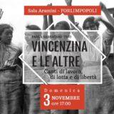 Domenica 3 Novembre – Paola Sabbatani Trio IL NUOVO SPETTACOLO all'ENTROTERRE FOLK CLUB
