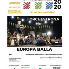 15 Agosto 2020 Fortezza di Castrocaro ore 06:14 (All'alba) L'Orchestrona della SMP (da camera)