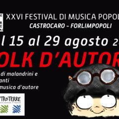 Folk D'Autore – 26° Festival di Musica Popolare 27, 28 e 29 Agosto 2020 – Rocca di Forlimpopoli