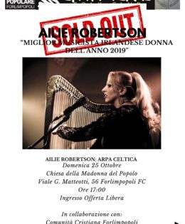 25 Ottobre 2020 – Ailie Robertson in concerto