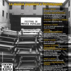 1986 – 2021 UNA STORIA FOLK La musica popolare a Forlimpopoli 07 11 12 21 Agosto 2021