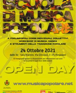 Scuola di musica Popolare 2021 2022. Si riparte! Ecco tutti i corsi