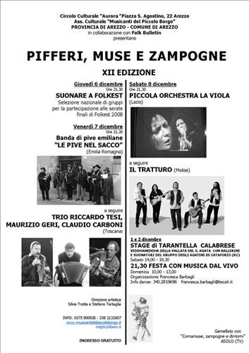PIFFERI MUSE E ZAMPOGNE 2007