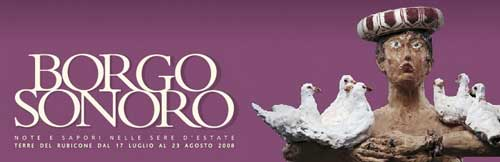 BORGO SONORO 2008 – IL PROGRAMMA