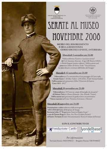 Ottobre e…Novembre al  Museo del Risorgimento e della Resistenza