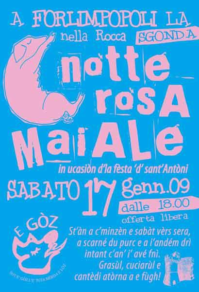 LA NOTTE ROSA MAIALE 2 – EDIZIONE 2009