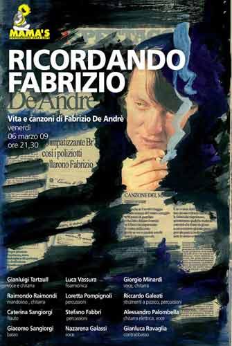 Ricordando Fabrizio.. al Mama's di Ravenna