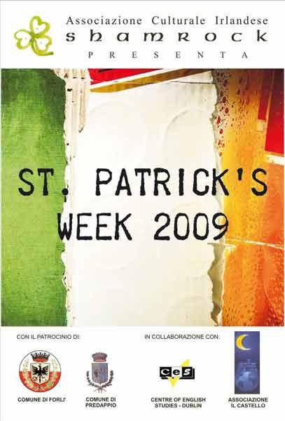 SHAMROCK ORGANIZZA LA SAINT PATRICK'S WEEK 2009