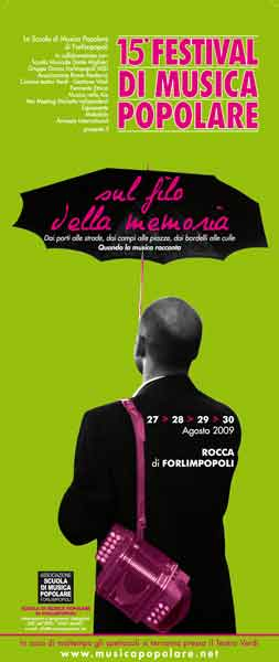 15 FESTIVAL DI MUSICA POPOLARE – SUL FILO DELLA MEMORIA – IL PROGRAMMA DEFINITIVO