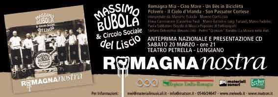 ROMAGNA NOSTRA – ANTEPRIMA LIVE A LONGIANO