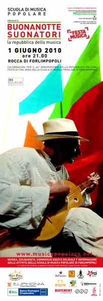 BUONANOTTE SUONATORI 2010 – LA REPUBBLICA DELLA MUSICA