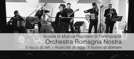 LA MUSICA DELL'Orchestra ROMAGNA NOSTRA E LA SMP SUI MAGAZZINI SONORI della REGIONE