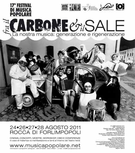 FRA IL CARBONE E IL SALE – 17° FESTIVAL DI MUSICA POPOLARE FORLIMPOPOLI