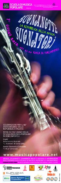 BUONANOTTE SUONATORI 2012 – LA REPUBBLICA DELLA MUSICA